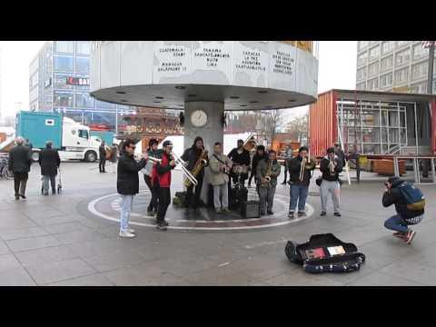 Santiago downbeat alexanderplatz berlin guns of navarone