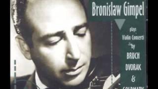 Bronislaw Gimpel - Rachmaninoff Daisies, Op.38 No.3  (Marguerite)