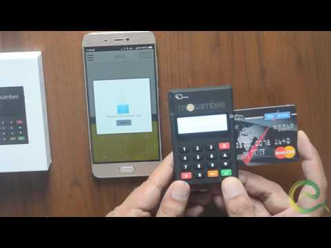 How To Use Mini Q-POS Machine With Debit And Credit Cards | Mosambee | Bluetooth POS Machine