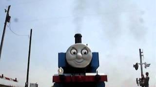 Thomas The Tank Train Runs Over My Camera !