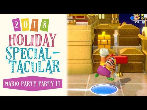 Holiday Specialtacular: Mario Party Party 11