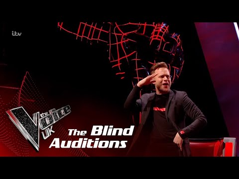 Olly Murs Performs 'Dance With Me Tonight': Blind Auditions   The Voice UK 2018