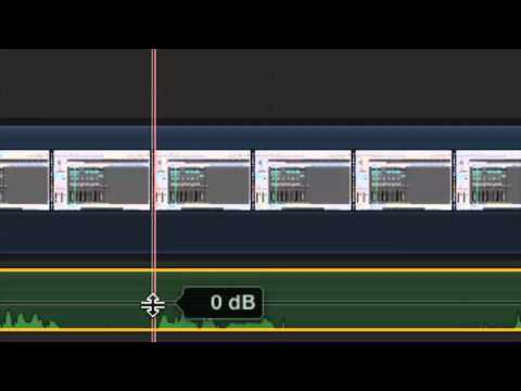 How to Mute the Middle of Audio With Final Cut Pro X : Video Editing