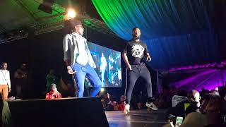 Khaligraph Jones vs Octopizzo vs Cassper Nyovest at the TGR Festival