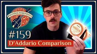 D'Addario String Comparison /// David Benedict Mandolin