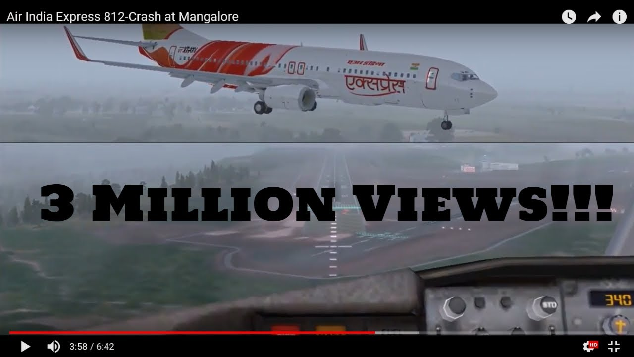 Air India Express 812-737 crash at Mangalore