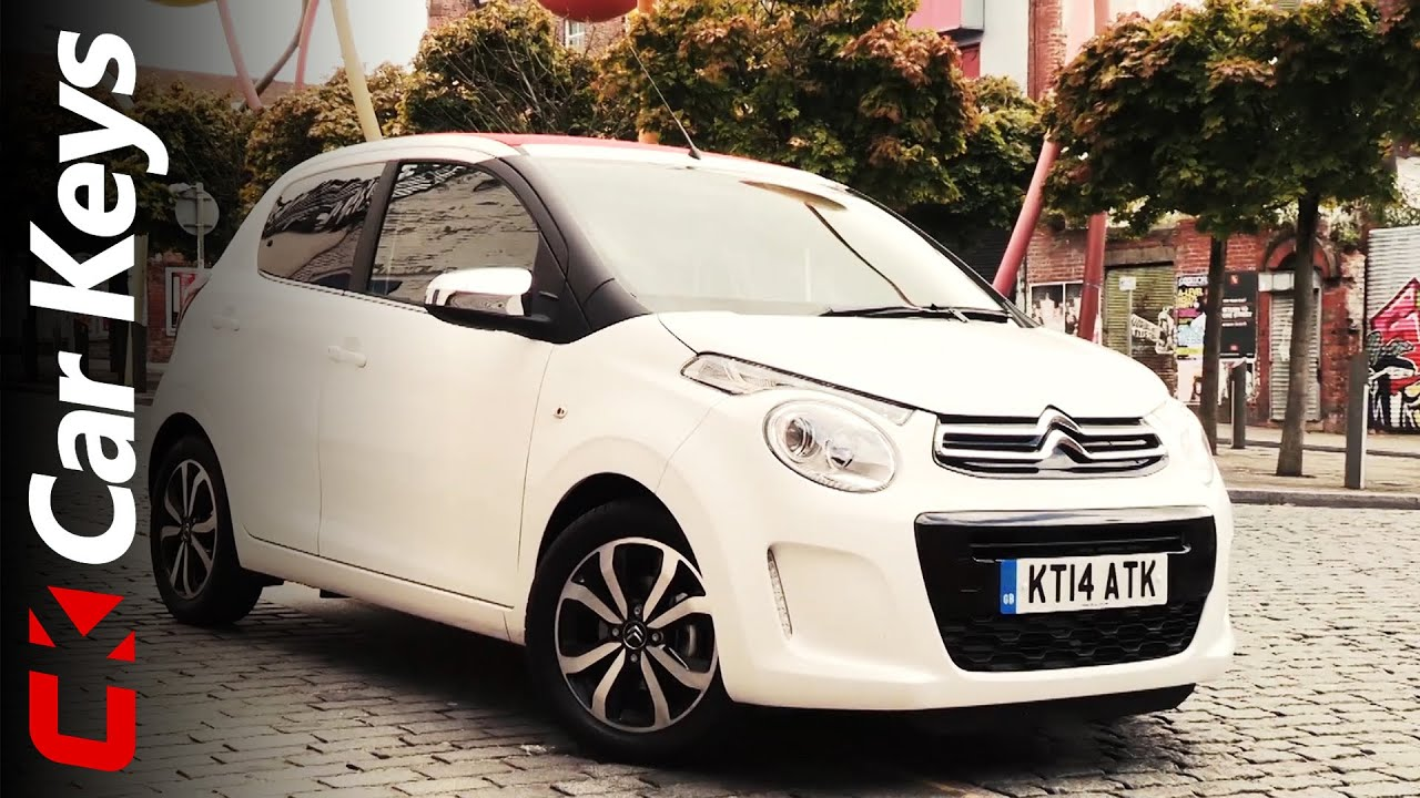 Citroen C1 Airscape 2014 review - Car Keys - YouTube