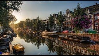 #612. Амстердам (Нидерланды) (лучшие фото)(Самые красивые и большие города мира. Лучшие достопримечательности крупнейших мегаполисов. Великолепные..., 2014-07-02T22:16:07.000Z)