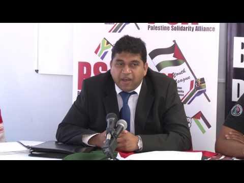 Ziyaad Patel; PSA PRESS CONFERENCE