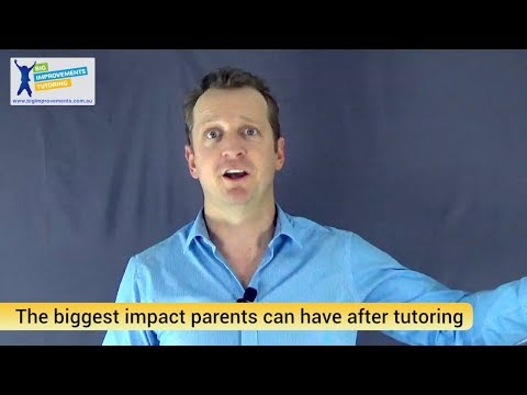 The biggest impact parents can have after each session (Big Improvements Tutoring)