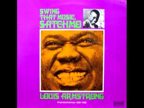 """""""SWING THAT MUSIC"""" - Louis Armstrong & His Orchestra - 1936"""