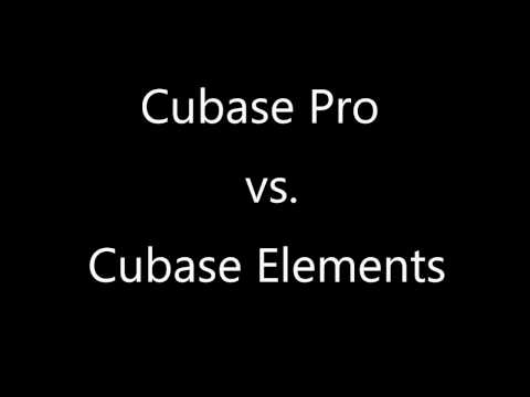 Cubase Pro vs. Cubase Elements