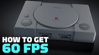 PlayStation Classic: How to Change the Game Region to NTSC (60fps)