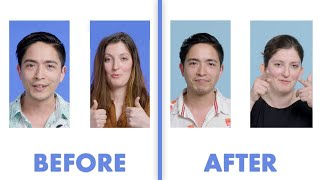 Interviewed Before and After Our First Date - Chris & Emilie   Glamour