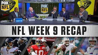 Week 9: Chiefs' momentum, Dolphins' first win, and Trubisky's stumbles | FOX NFL