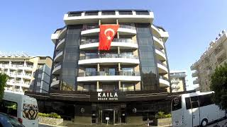 Отель Kaila Beach Hotel 5 Аланья Турция Обзор отеля KATYA BEACH 5 Alanya
