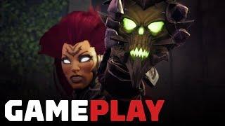 16 Minutes of Darksiders 3 Gameplay (60fps) - Gamescom 2018