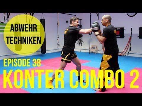 Kickbox Training #38 - Angriff Zum Kopf Kontern / Kickboxen / Boxen Lernen / Köln / Fitness