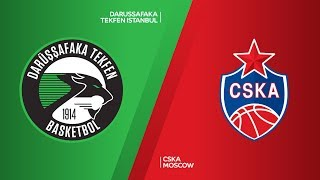 Darussafaka Tekfen Istanbul - CSKA Moscow Highlights | Turkish Airlines EuroLeague RS Round 17