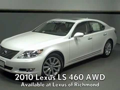 2010 Lexus LS 460 AWD Available At Lexus Of Richmond   YouTube