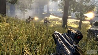 Very Beautiful Futuristic Shooter Game about WW3 ! Frontlines Fuel of War