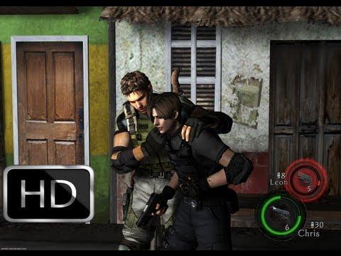 Resident Evil 5 Mod Leon Kennedy E Chris Redfield Youtube