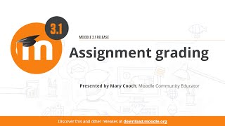 Assignment grading in Moodle 3.1