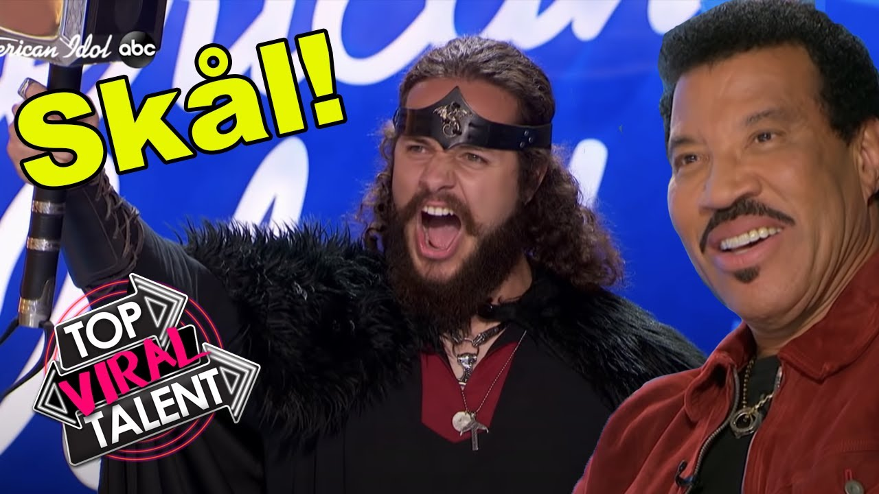 THOR AUDITIONS FOR AMERICAN IDOL 2021?! Surprised Judges LOOK ON!