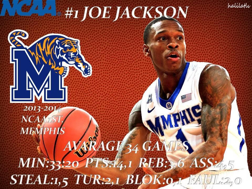 Download Joe Jackson 2013-2014 Memphis NCAA1