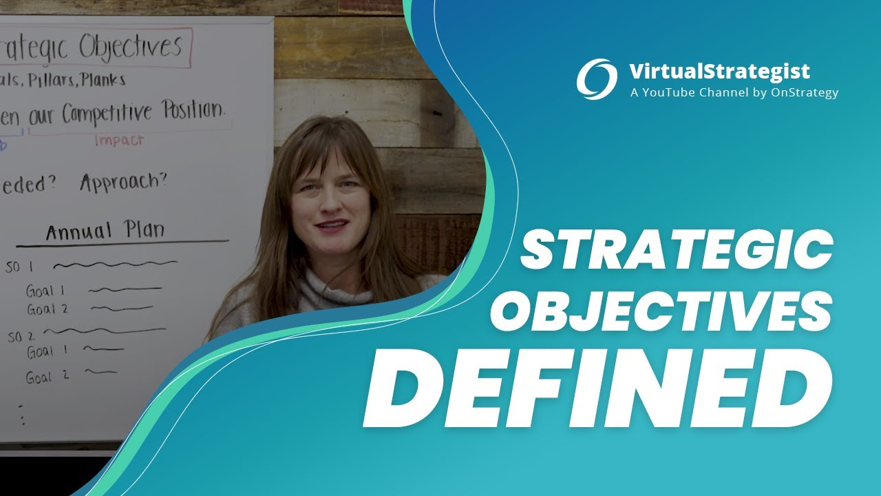 Download What Are Strategic Objectives? I Strategic Objectives Defined