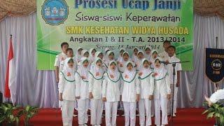 CAPPING DAY SMK Kesehatan Widya Husada K...