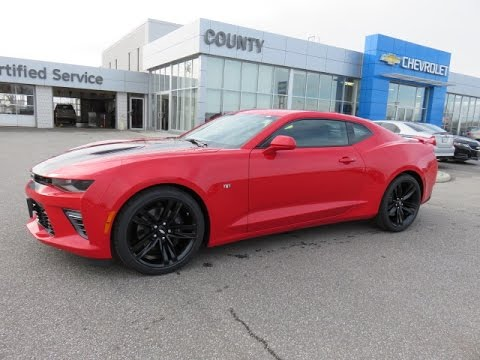 2017 Camaro 2ss Red Hot