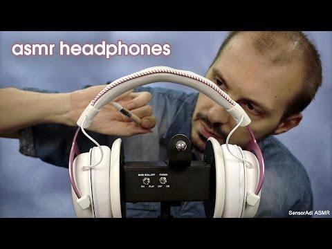 Binaural Headphones ASMR Relaxation