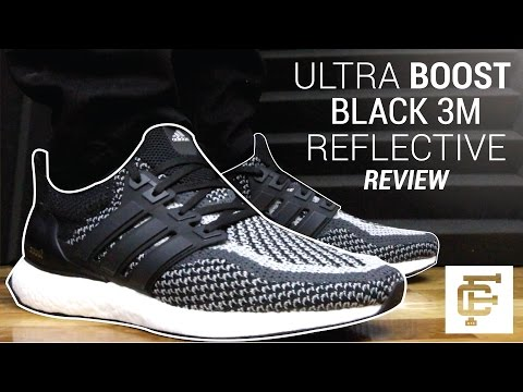 ULTRA BOOST 2.0 BLACK REFLECTIVE 3M REVIEW