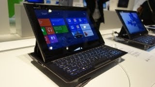 First Look_ Sony VAIO Duo 11 Slider Tablet