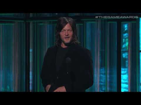 Devil May Cry 5 Wins The Best Action Game Award Presented By Norman Reedus | The Game Awards 2019