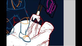 Speed Drawing - Astronauta de Mármore e Osso