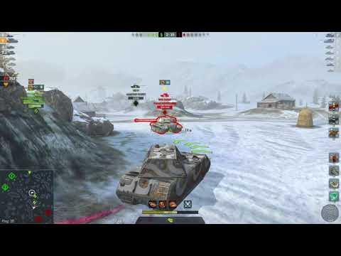 WoT Blitz под немецкий марш SS Das Reich