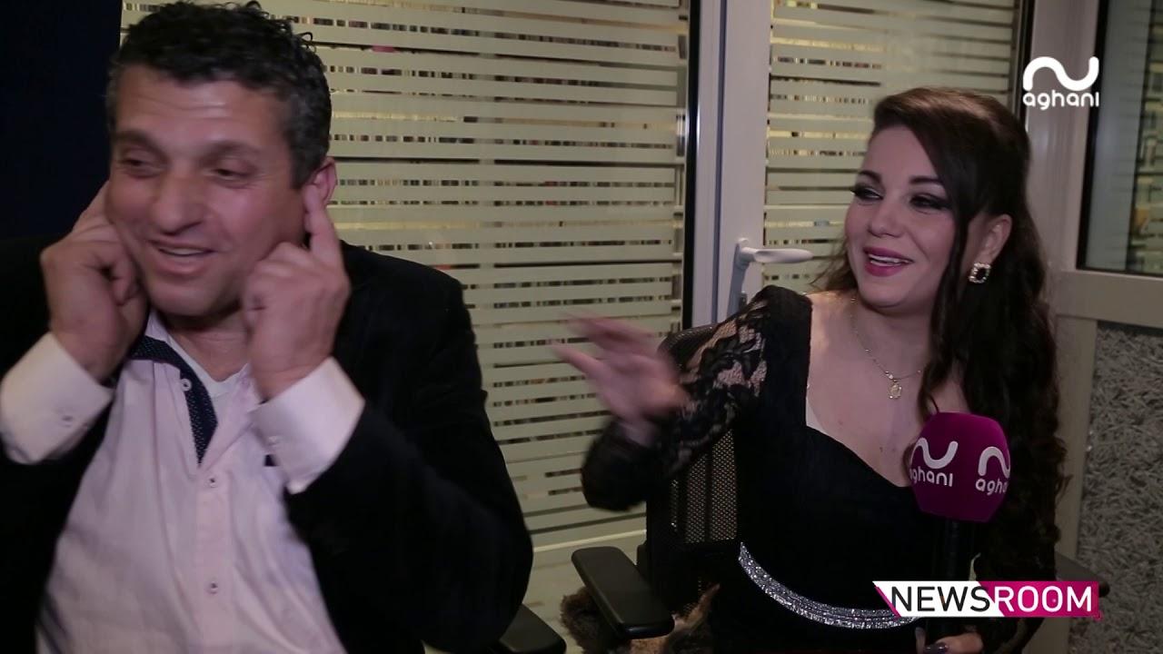 أنيس زبيدة يُعلن طلاقه من زوجته تينا عبر أغاني أغاني!