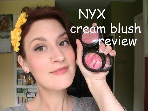 Nyx Cream Blush Review Youtube