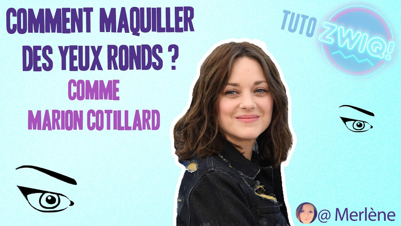 tuto maquillage comment maquiller ses yeux ronds comme marion cotillard youtube. Black Bedroom Furniture Sets. Home Design Ideas