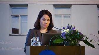 Varhaiskasvatuksen tulevaisuus  -seminaari:  Sanni Grahn Laasonen