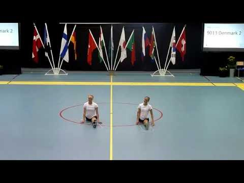 Single Rope Pair Freestyle - Gug Rope Skipping Team, Denmark