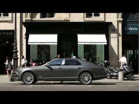Bentley Mulsanne 2013 Jean Michel Jarre Commercial Lalique Carjam TV Car Show HD