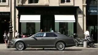 Bentley Mulsanne 2013 Jean Michel Jarre Commercial Lalique Carjam TV Car Show HD
