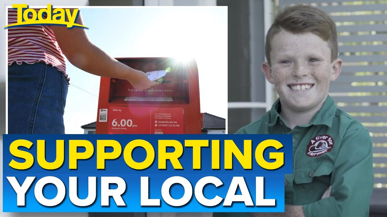 'Fiver for a Farmer' legend launches new regional post offices initiative | Today Show Australia