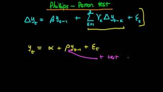 the phillips perron test for a unit root an introduction