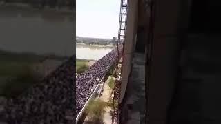 عاجل عاجل عاجل تظاهرات في ساحة التحرير بغداد ٢٠١٩