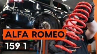 Come e quando cambiare Molle ammortizzatore anteriore sinistro destro ALFA ROMEO 159 Sportwagon (939): video tutorial
