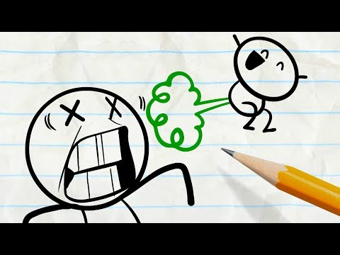 "Thumbnail: Pencilmate Stinks! -in- ""Unfarted Territory"" Pencilmation"